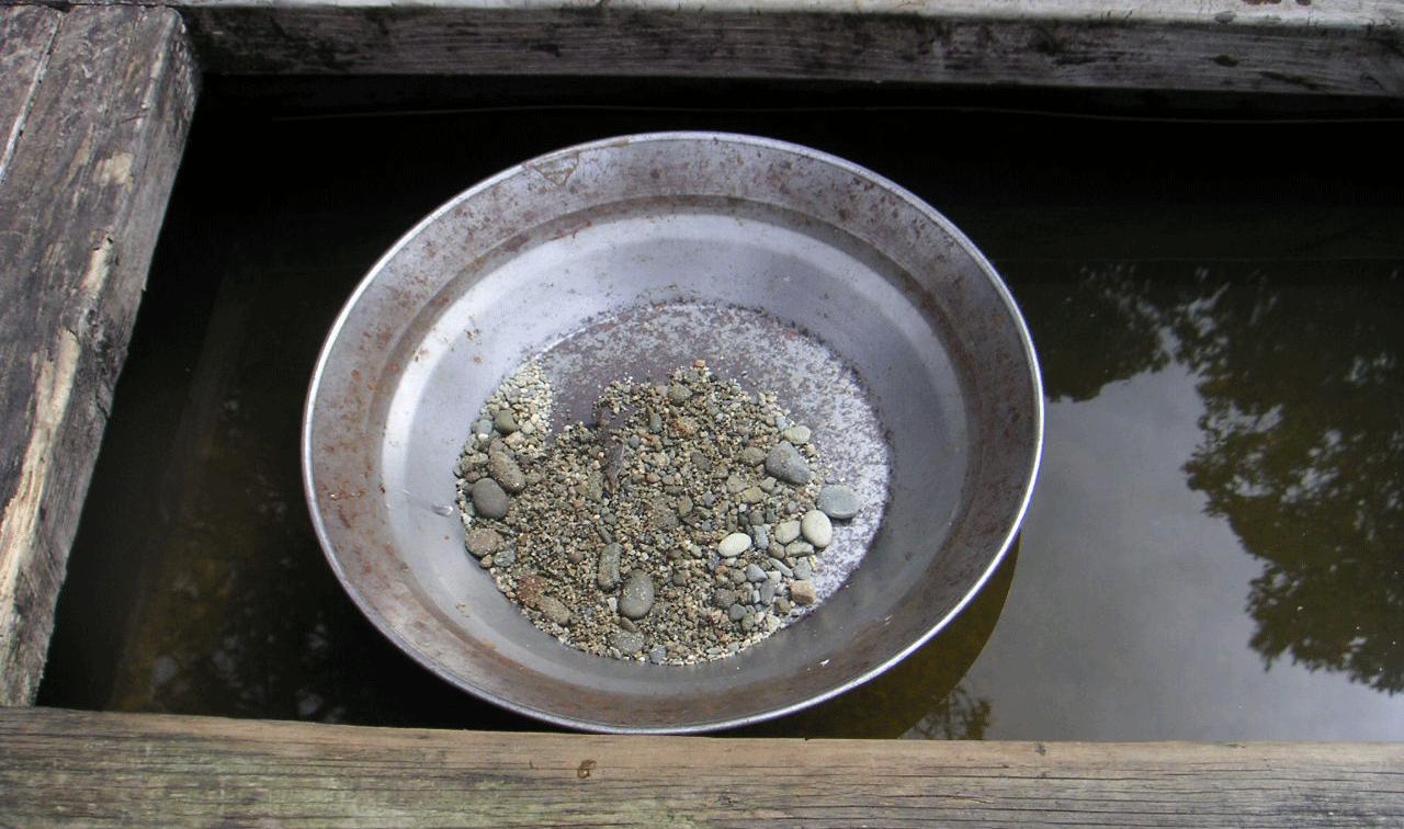 concentração de minerais pesados