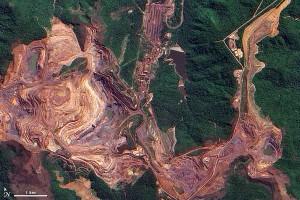 Mineração em terras indígenas. Mina de Carajás.