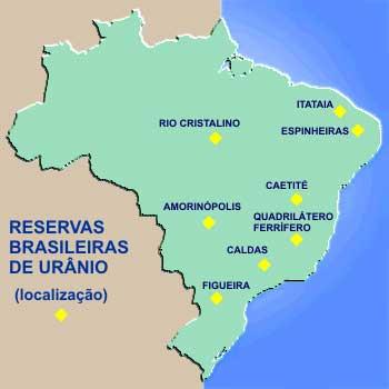Urânio no Brasil - Reservas.