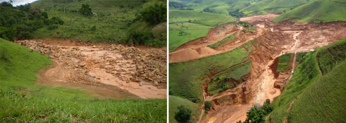 Acidentes na Mineração - Mineradora Rio Pomba Cataguazes