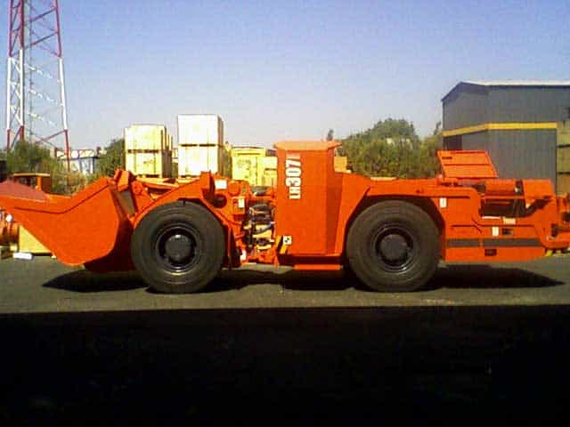 Equipamentos utilizados na lavra subterrânea - Perfuratriz - LHD