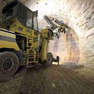 Operações Auxiliares na Mineração Subterrânea