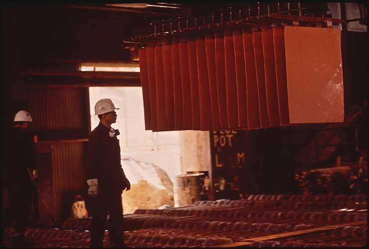 Eletrometalurgia na mineração