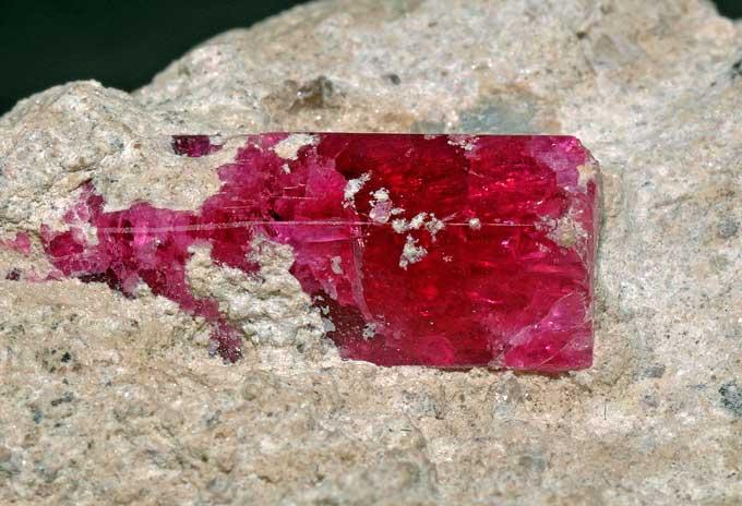 Berilo Vermelho - Minerais Raros