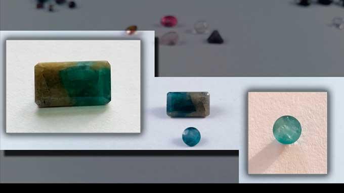 Cristal de Grandidierite