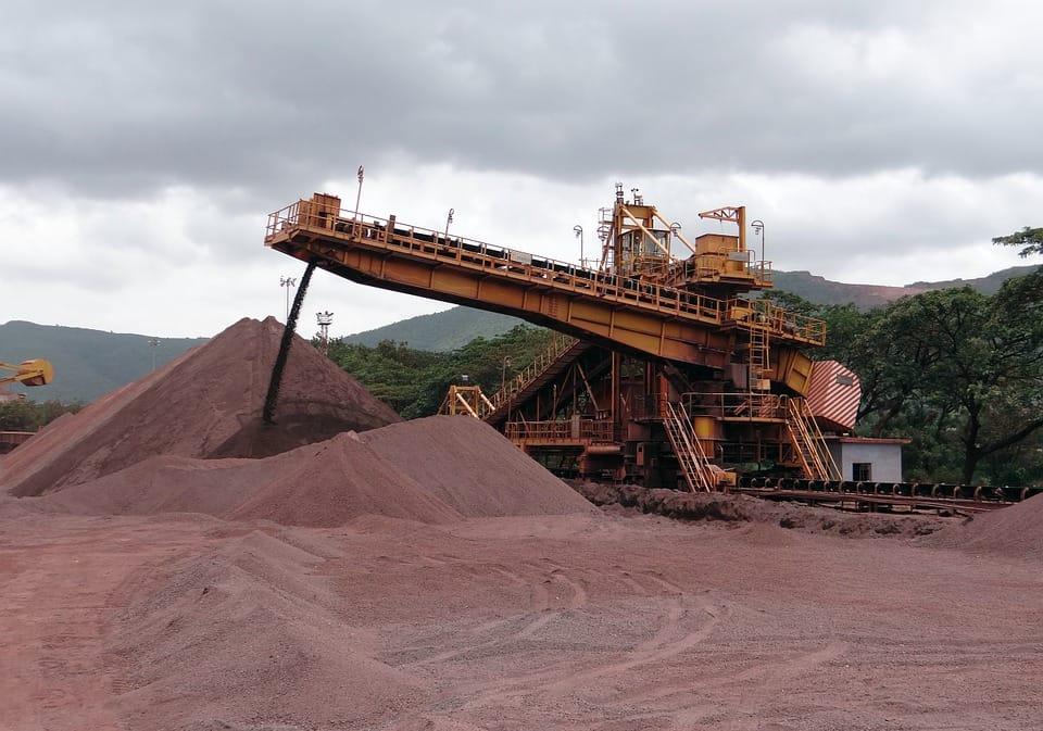 Minério de ferro no Brasil