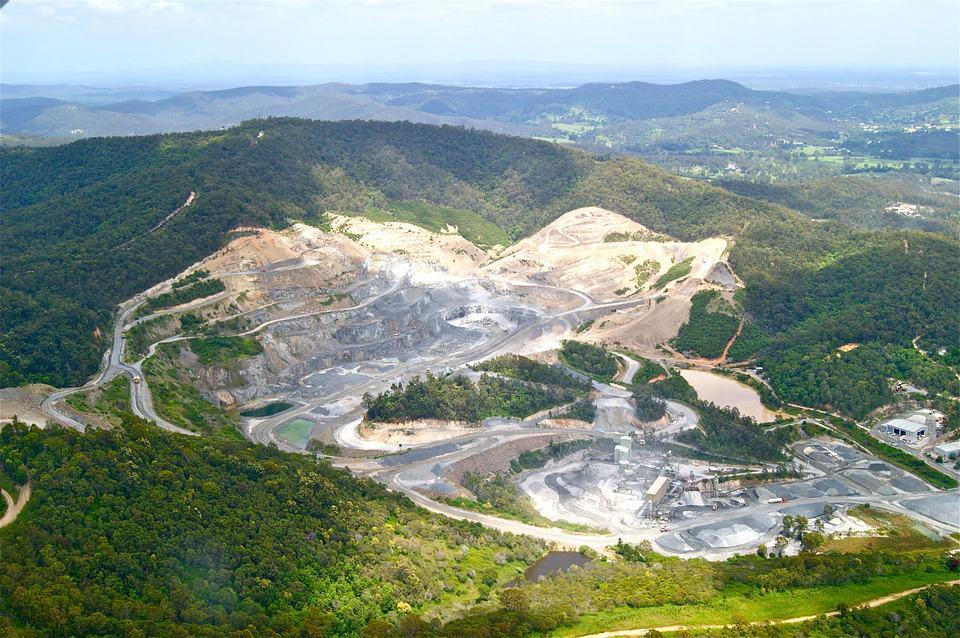 Desmatamento e mineração