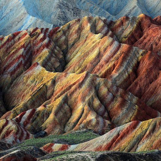 formações geológicas Danxia