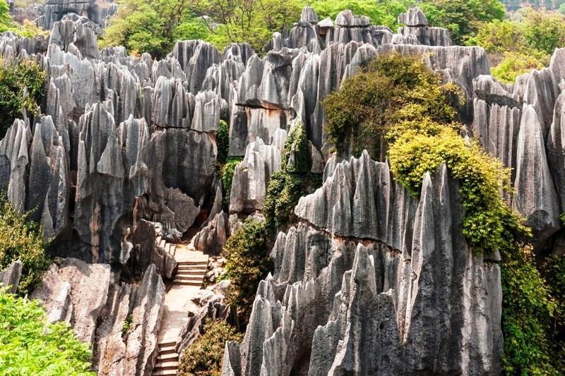Formações_Geológicas_Shilin-Stone-Forest